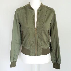 Ambiance Bomber Style Jacket